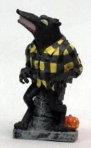 Nightmare before Christmas - Sega - Werewolf Mini Cold Cast