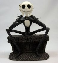 Nightmare Before Christmas - Statuette Monogram - Jack Skellington assis sur pierre tombale