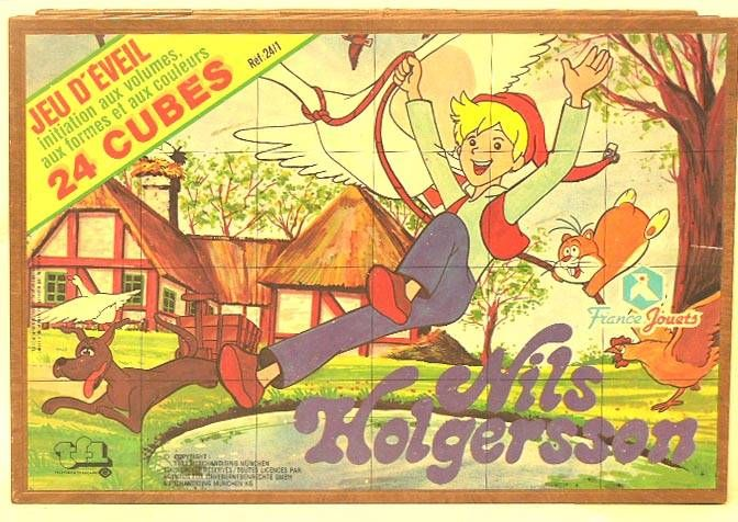 Nils Holgersson - cubes game