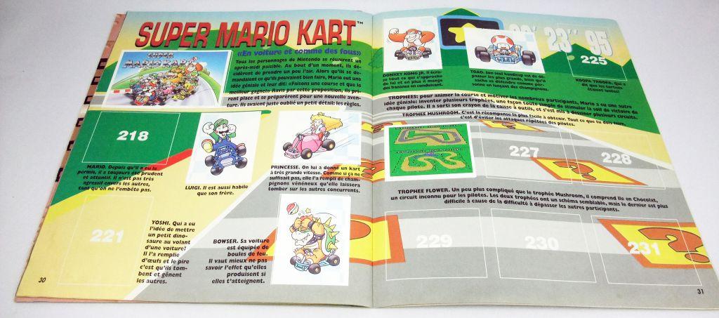 Nintendo : Les Jeux - Album Collecteur de Vignettes Panini 1993