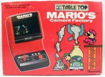 Nintendo - Table Top Game & Watch - Mario\'s Cement Factory (neuf en boite française)