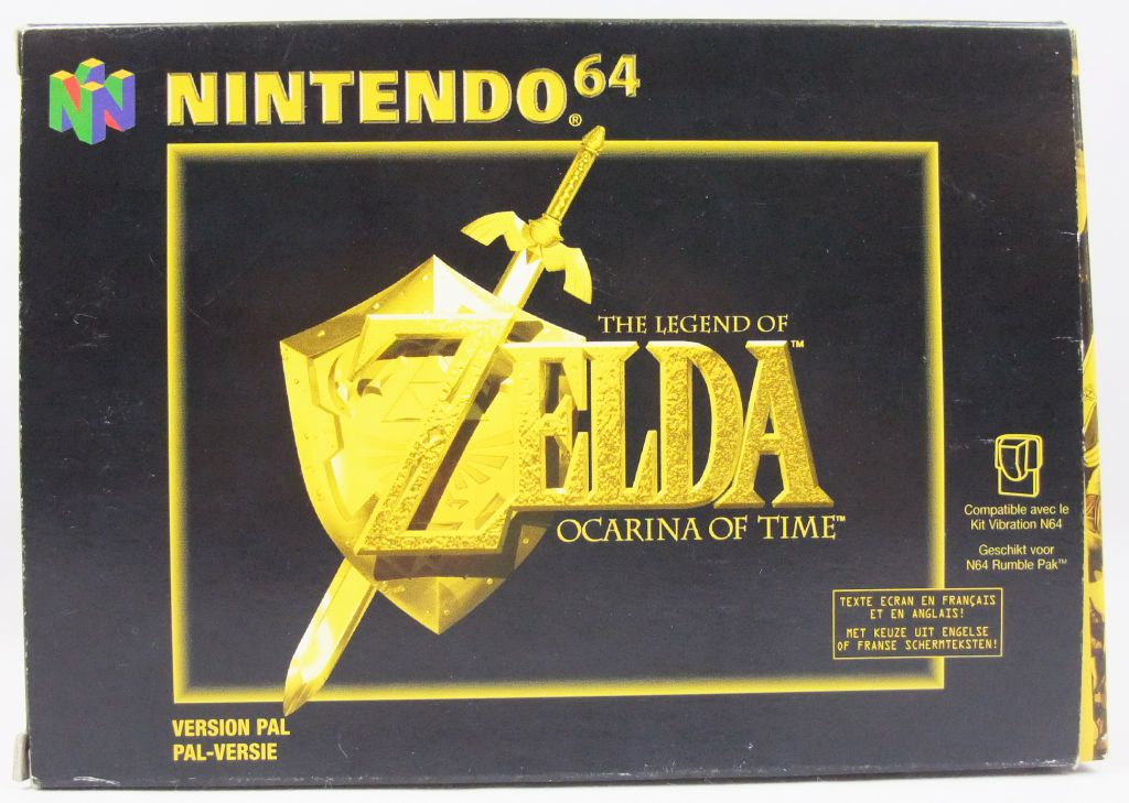 Nintendo 64 The Legend Of Zelda Ocarina Of Time Pal Version