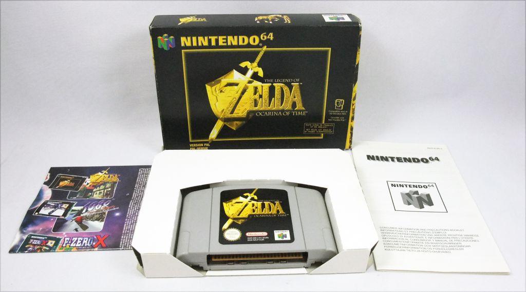 Nintendo 64 - The Legend of Zelda : Ocarina of Time (PAL Version)
