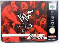 Nintendo 64 - WWF Attitude (Version PAL)
