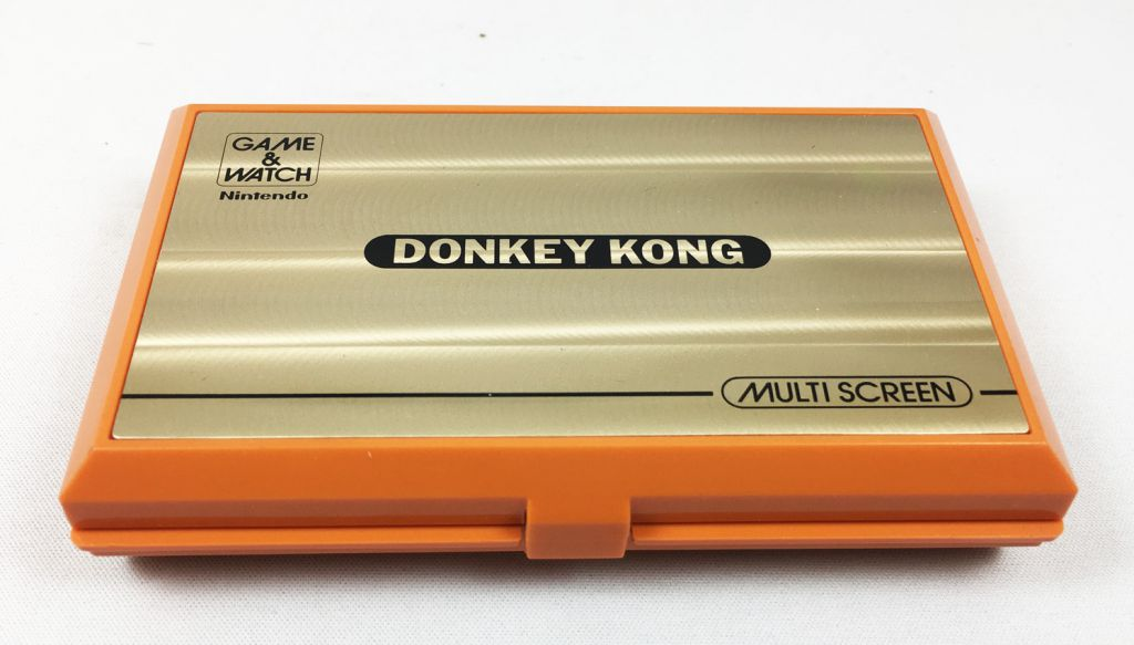 Nintendo Game & Watch - Multi Screen - Donkey Kong (Loose with J.I 21 Box)