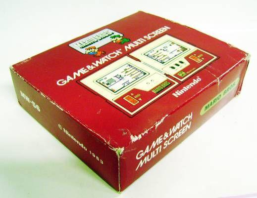 Nintendo Game & Watch - Multi Screen - Mario Bros. (loose with box)