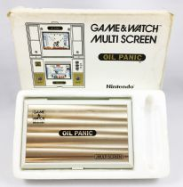 Nintendo Game & Watch - Multi Screen - Oil Panic (Loose with box)