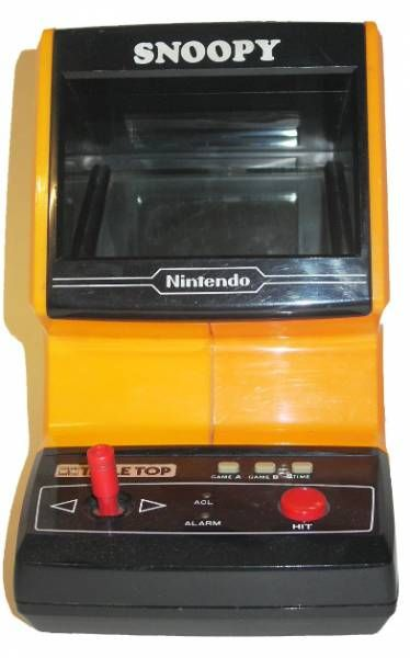 Nintendo Game & Watch - Table Top - Snoopy