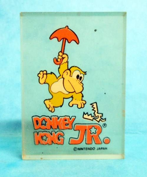 Nintendo Game & Watch - Transparent Perfumed Eraser Donkey Kong Jr. #3