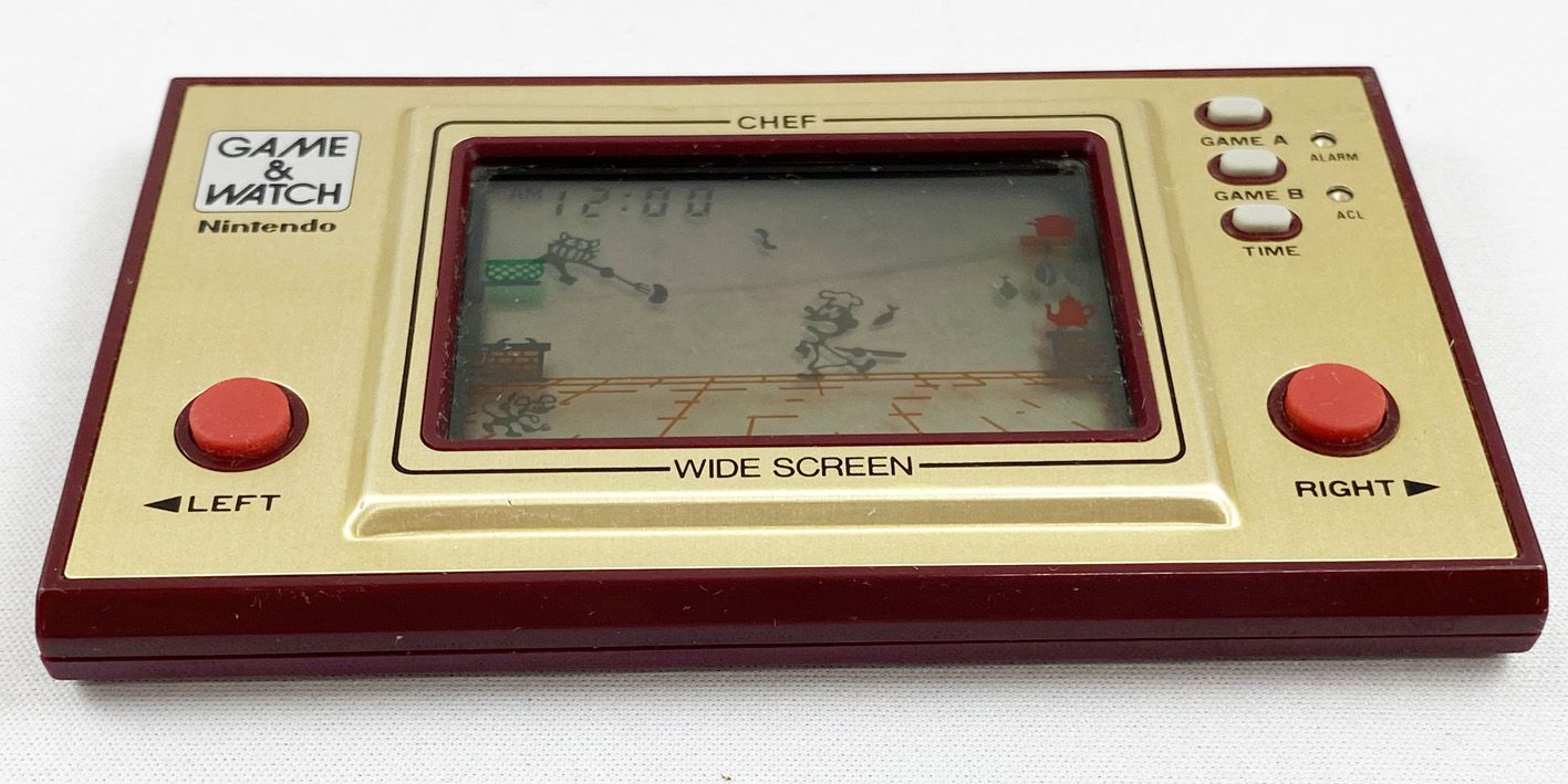 Nintendo Game & Watch - Wide Screen - Chef (FP-24) Version FR occasion sans boite