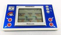 Nintendo Game & Watch - Wide Screen - Manhole (loose)