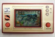 Nintendo Game & Watch - Wide Screen - Octopus (Future Tronics - Australia) loose