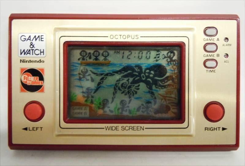 Nintendo Game & Watch - Wide Screen - Octopus (Future Tronics - Australie) occasion