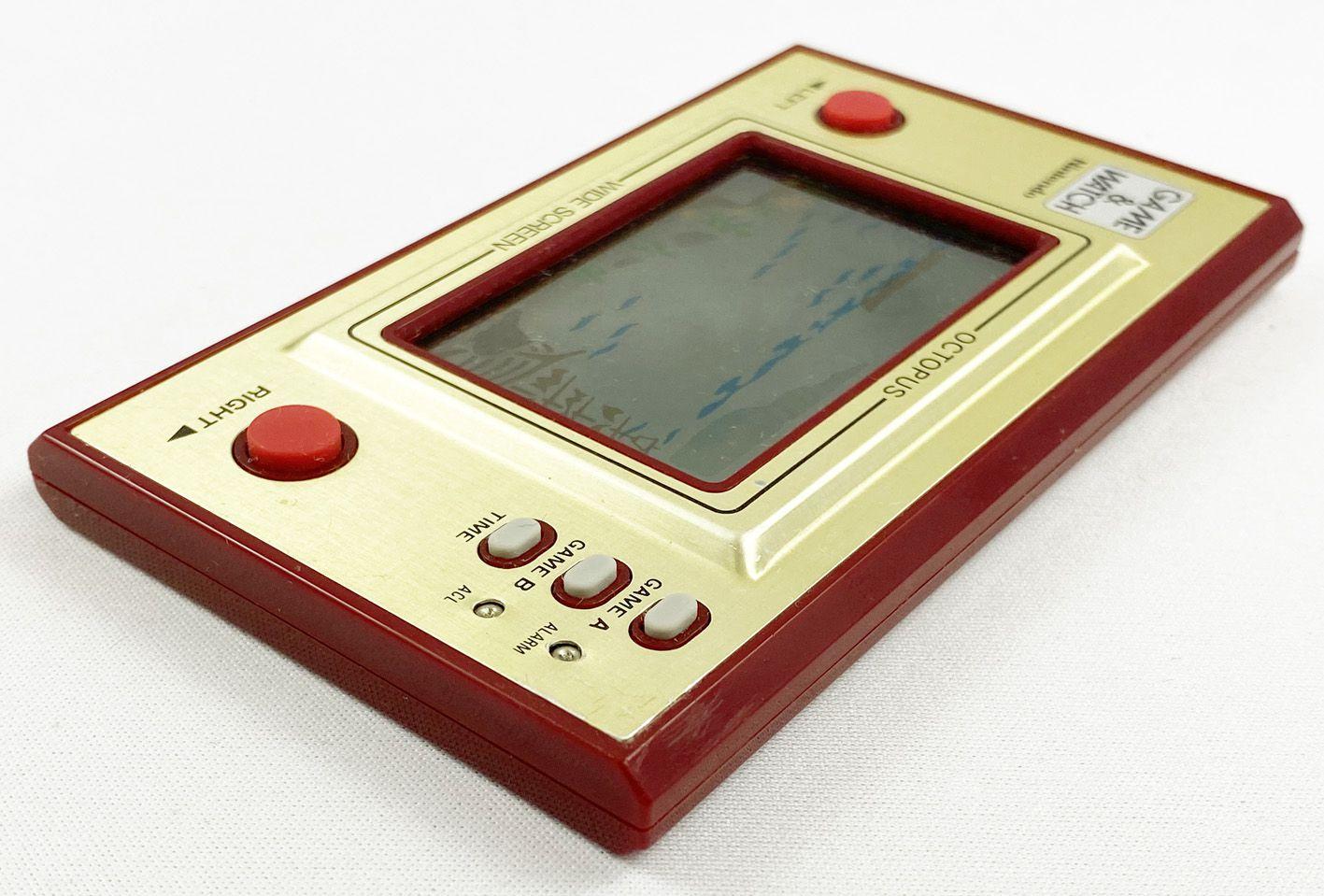Nintendo Game & Watch - Wide Screen - Octopus (OC-22) occasion sans boite