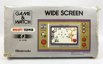 Nintendo Game & Watch - Wide Screen - Snoopy Tennis (Loose with box)