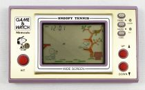 Nintendo Game & Watch - Wide Screen - Snoopy Tennis (SP-30) loose without box