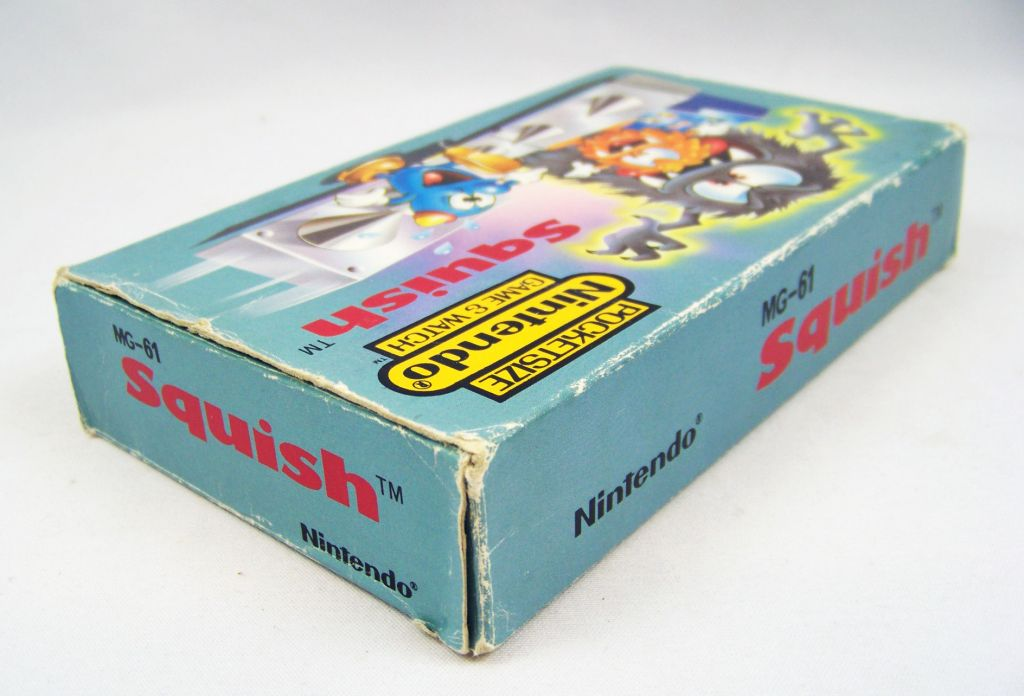 Nintendo Game & Watch (Pocketsize) - Squish (Near-Mint in box)