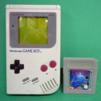 Nintendo Game Boy - Handheld System (Model n°DMG-01) + Tetris game