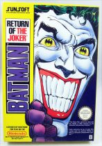 Nintendo NES - Batman Return of the Joker - Sunsoft (Version PAL)