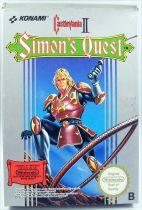 Nintendo NES - Castlevania II Simon\'s Quest (PAL version)