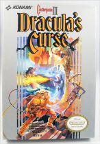 Nintendo NES - Castlevania III Dracula\'s Curse - Konami (Version US)