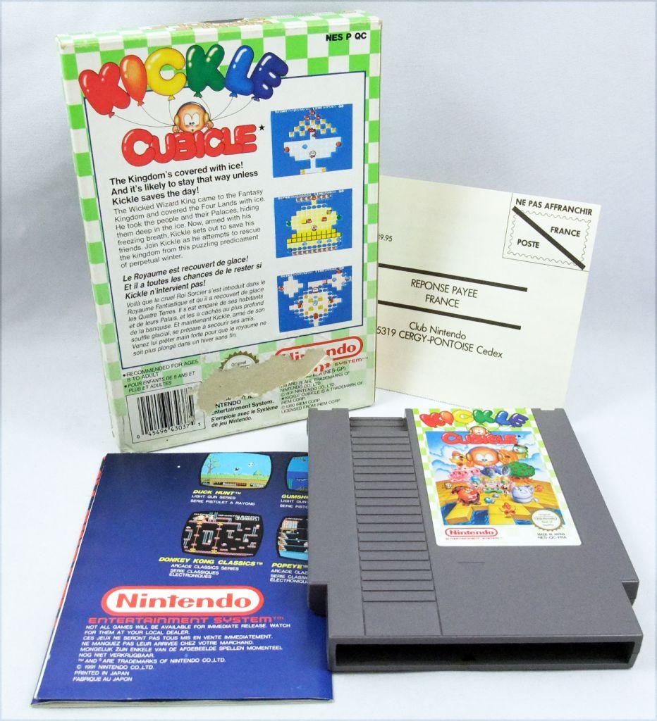 Nintendo NES - Kickle Cubicle - Irem (Version PAL)