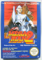 Nintendo NES - Megaman 2 - Capcom (Version PAL)