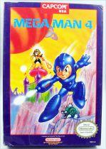 Nintendo NES - Megaman 4 - Capcom (US version)