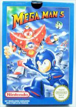 Nintendo NES - Megaman 5 - Capcom (Version PAL)