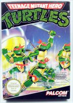 Nintendo NES - Teenage Mutant Hero Turtles - Palcom Software (PAL version)