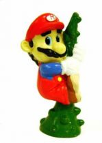 Nintendo Universe - Mario Bros. - Applause pvc figure - Mario climbs with the plant
