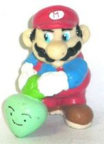 Nintendo Universe - Mario Bros. - Applause PVC Figure - Mario with vegetable