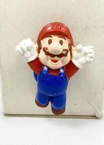 Nintendo Universe - Mario Bros. - Figurine PVC Kelloggs - Mario volant avec ventouse sur le dos