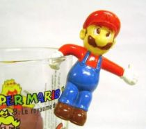 Nintendo Universe - Mario Bros. - Kellogs PVC Figure - Mario (hang glass by one side)