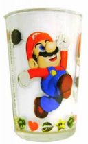 Nintendo Universe - Super Mario 64 - Leclerc Mustard glass - Mario in action