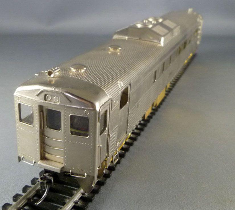 NJ Custom Brass 4012 Ho Santa Fe Autorail Diesel Budd Rdc-2 DE-112 Motorisé Neuf Boite