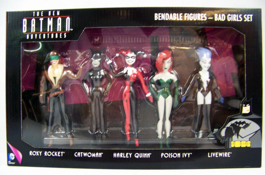 The New Batman Adventures Bad Girls Set Bendable Figures Batman