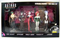 NJCroce - The New Batman Adventures - Bendable Figures - Bad Girls Set