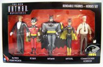 NJCroce - The New Batman Adventures - Bendable Figures - Heroes Set