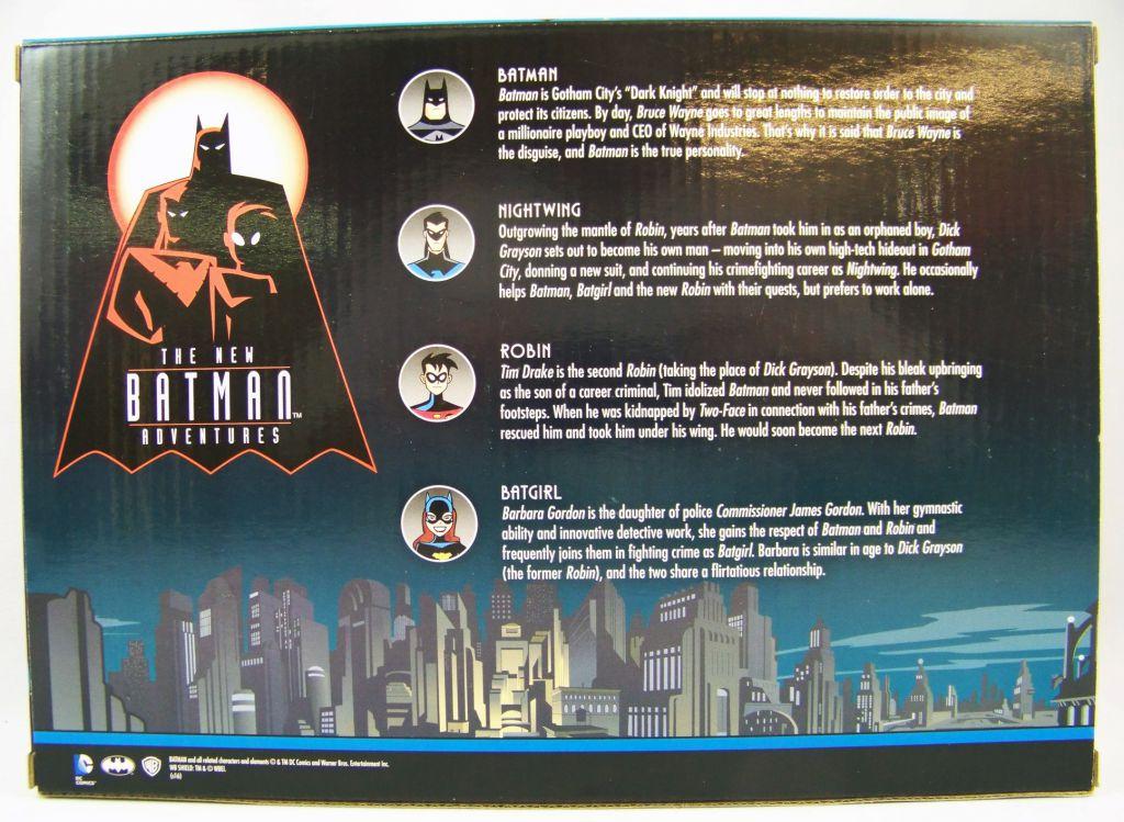 NJCroce - The New Batman Adventures - Bendable Figures - Masked Heroes Set
