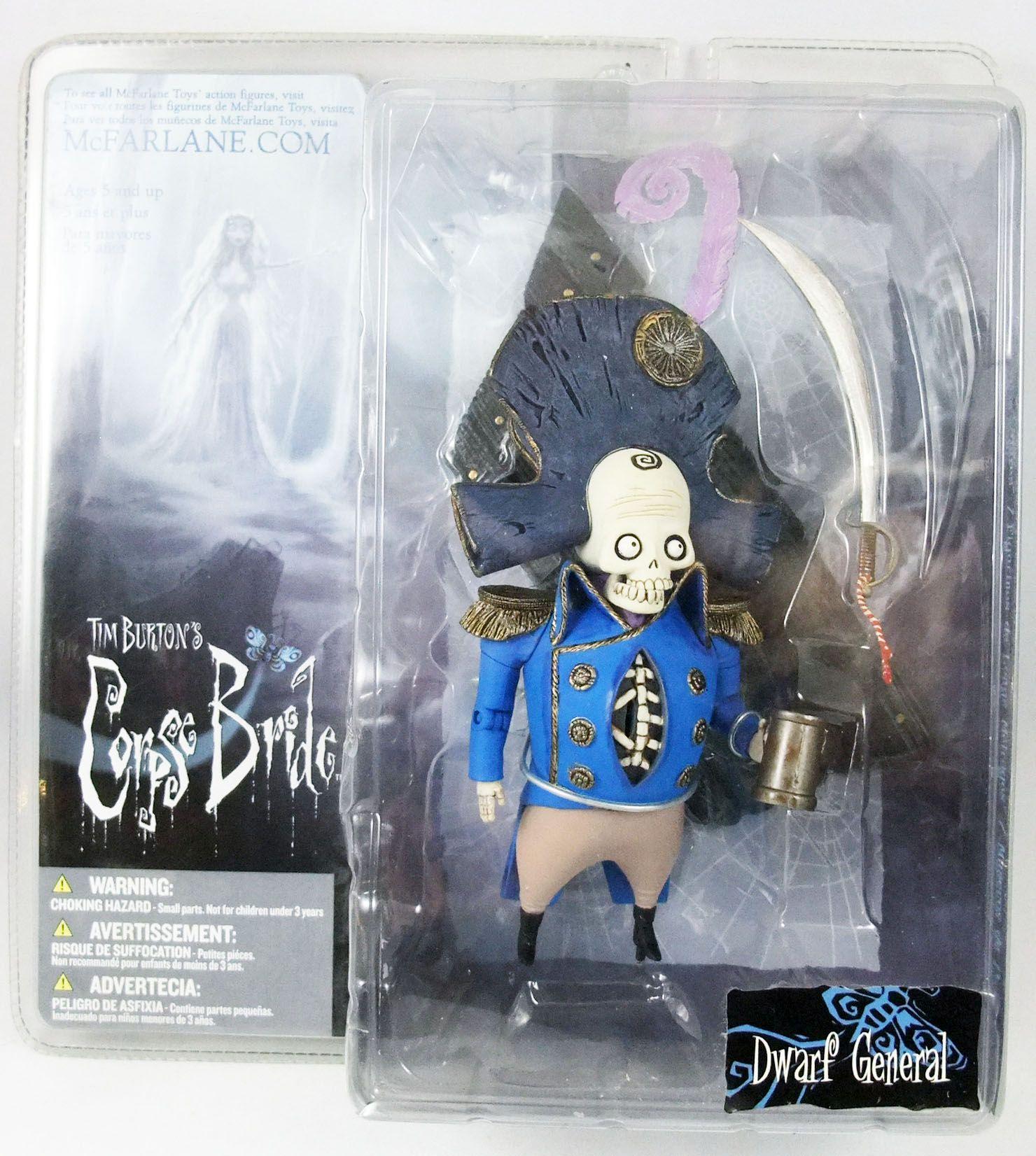 Noces Funebres - McFarlane Toys - Dwarf Général Bonesapart