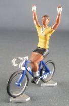 Norev - Cycliste Tour De France Maillot Jaune Crédit Lyonnais