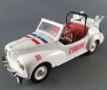 Norev Atlas Peugeot 203 Cabriolet l\'Equipe Véhicule du Tour de France 1954