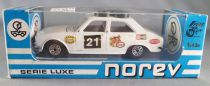 Norev D-222 Series Luxe Peugeot 504 Rally Near Mint in Box 1:43
