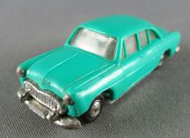 Norev Micro Miniature N°1 Ho 1:86 Simca Ariane Turquoise Metallized Wheels Weighted