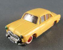 Norev Micro Miniature N°1 Ho 1/86 Simca Versailles Jaune Roues Rouge Lestée