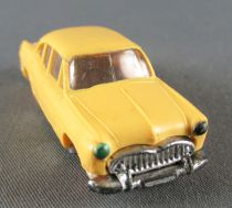 Norev Micro Miniature N°1 Ho 1:86 Simca Versailles Yellow Red Wheels Weighted