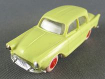 Norev Micro-Miniatures Ho 1:86 Simca Aronde P60 Light Yellow Red Wheels Weighted