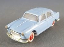 Norev Micro-Miniatures Ho 1:87 Blue Peugeot 404 Towing Hook White Tyres Weighted