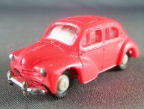 Norev Micro-Miniatures Ho 1/87 Renault 4cv Rouge Lestée